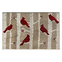 St. Nicholas Square® Supersoft Cardinal Rug