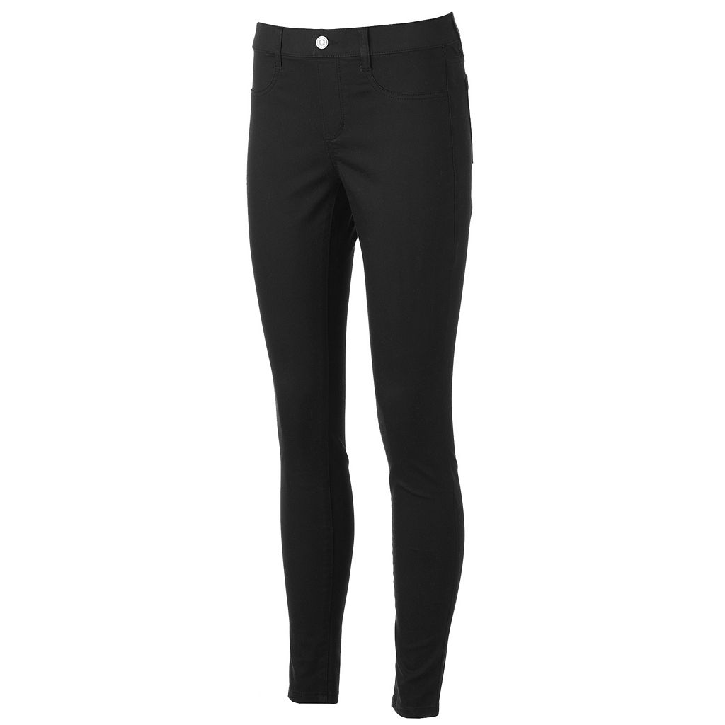 Juniors' SO® Pull-On Jeggings