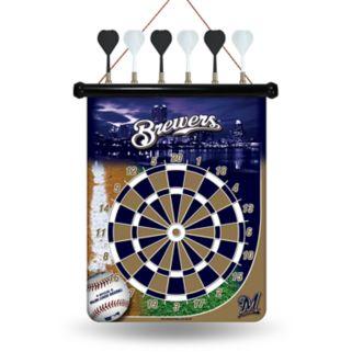Milwaukee Brewers Magnetic Dart Board