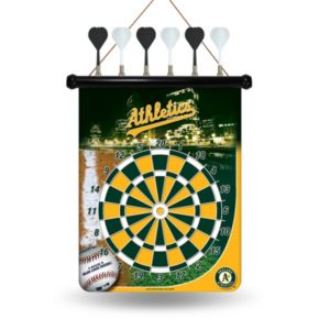 Oakland Athletics Magnetic Dart Board