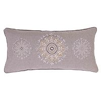 Tammy Sparkle Burlap Throw Pillow