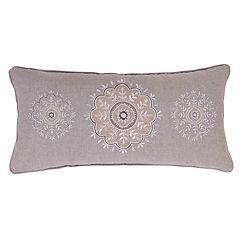 Tammy Sparkle Burlap Throw Pillow