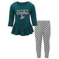 Baby Philadelphia Eagles Tiny Trainer Tee & Pants Set