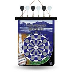 Colorado Rockies Magnetic Dart Board