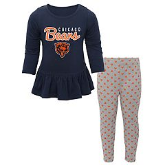 Baby Chicago Bears Tiny Trainer Tee & Pants Set