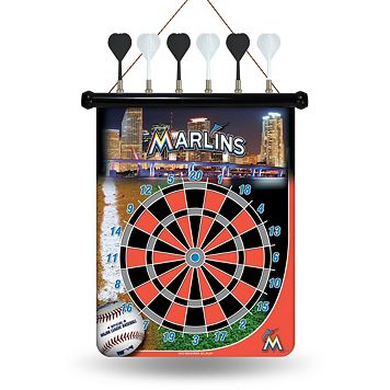Miami Marlins Magnetic Dart Board