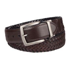 Men's Columbia Elevated Reversible Braided Belt