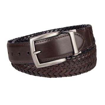 Men's Columbia Elevated Reversible Braided Belt