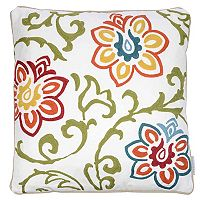 Hazel Floral Pattern Throw Pillow