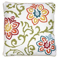Hazel Floral Pattern Throw Pillow