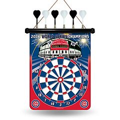 Chicago Cubs 2016 World Series Champions Wrigley Field Magnetic Dart Board