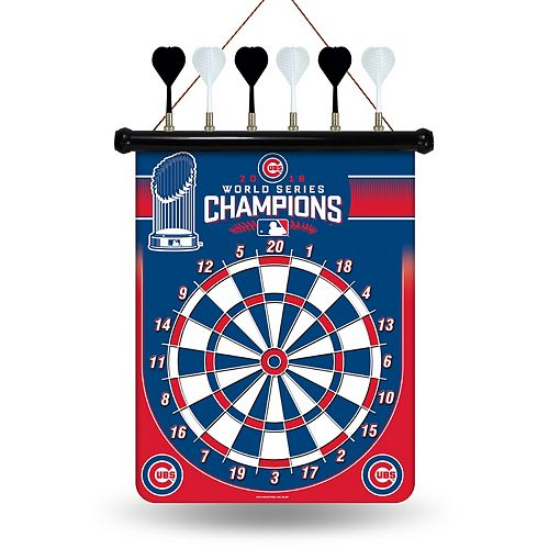 Chicago Cubs 2016 World Series Champions Magnetic Dart Board