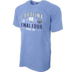 Men's North Carolina Tar Heels 2017 Men's Basketball Final Four Factor Tee