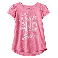 Girls 4-10 Jumping Beans® Glitter Graphic Tee