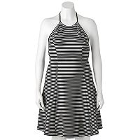 Juniors' Plus Size SO® Striped Halter Dress