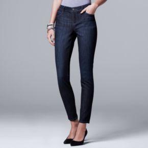 Petite Simply Vera Vera Wang Skinny Jeans