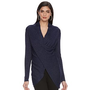 Women's Jennifer Lopez Twist-Front Sweater