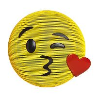 HMDX Jamoji Emoji Kiss Wireless Bluetooth Speaker
