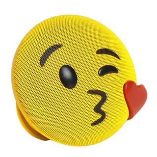 HMDX Jamoji Emoji Kiss Wireless Bluetooth Speaker