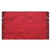 St. Nicholas Square® Woven Chenille Rug