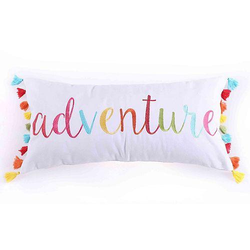 Margo Adventure Throw Pillow