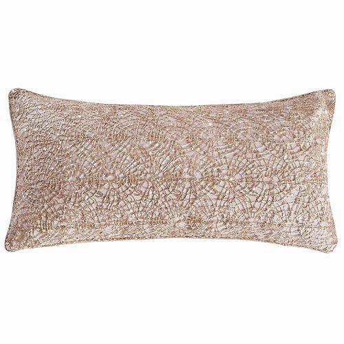 Parke Gold Overlay Throw Pillow