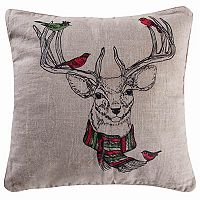Parke Deer Throw Pillow
