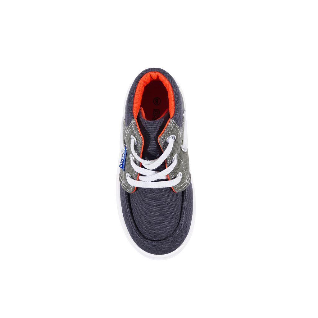 Oomphies Riley Toddler Boys' High Top Sneakers