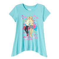 Disney's Girl Meets World Liv & Maddie Girls' 7-16 Sharkbite Hem Tee