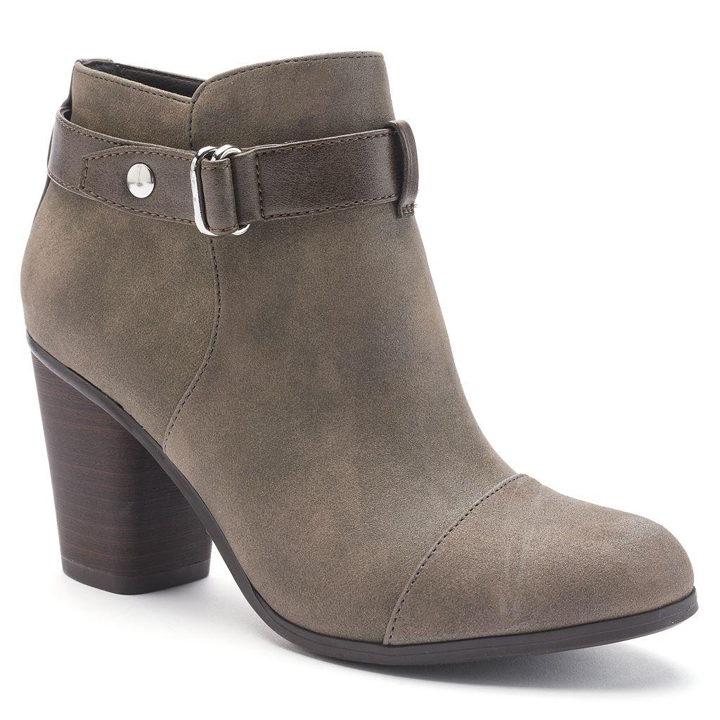 LC Lauren Conrad Poppey Women's Ankle Boots