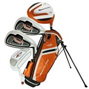 Ray Cook Manta Ray 3-5 Junior 5 pc Left Hand Golf Clubs & Stand Bag Set