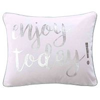 Lindsey Spa Enjoy Today Throw Pillow