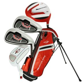 Kids Ray Cook Manta Ray Junior Left Hand 6-Piece Golf Club Set