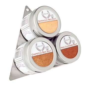 Gustus Vitae Red Hot Sea Salts Collection Seasoning Set