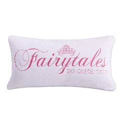 Zoey Fairytales Do Come True Throw Pillow