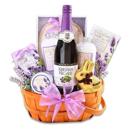 Alder creek relaxing easter lavender gift basket negle Image collections