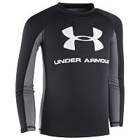 Boys 4-7 Under Armour Long-Sleeve Logo Rashguard