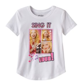 "Disney's Girl Meets World Liv & Maddie Girls 7-16 ""Sing It Loud"" Glitter Graphic Tee"