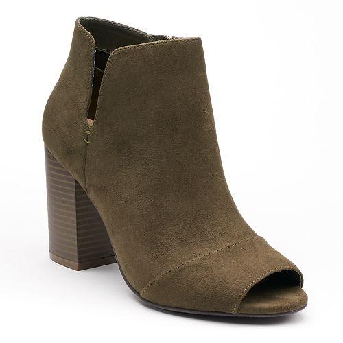 Apt. 9® Upgraded Women's Side Slit Ankle Boots