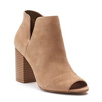 Apt. 9® Upgraded Women's Side Slit Ankle Boots