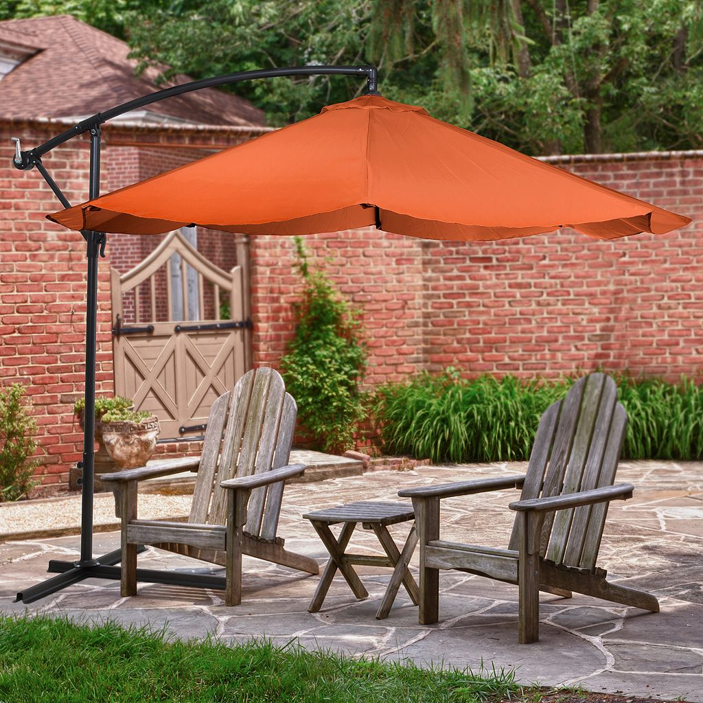 Navarro 10-ft. Outdoor Hanging Patio Umbrella
