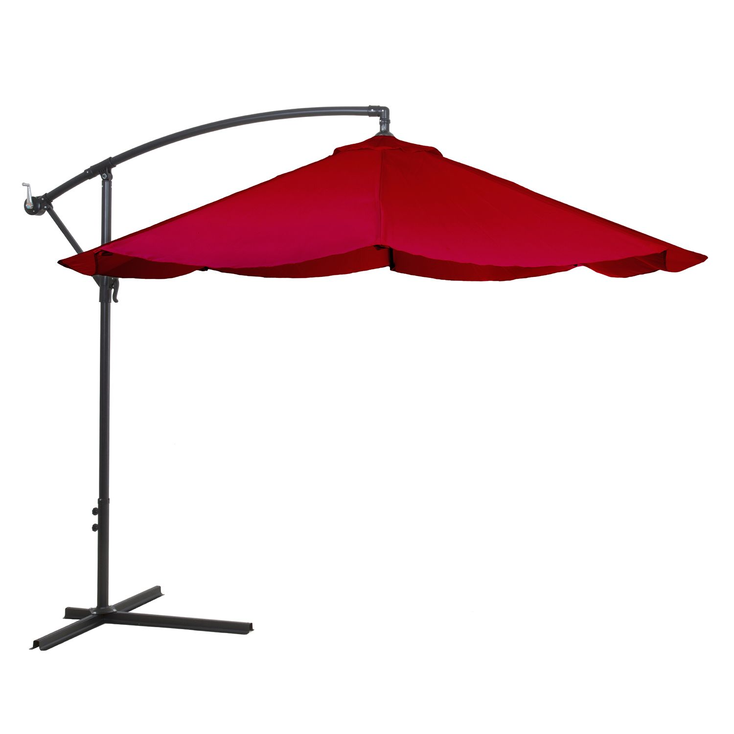 Navarro 10 Ft. Outdoor Hanging Patio Umbrella