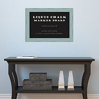Amanti Art Rustic Small Framed Liquid Chalkboard Wall Decor