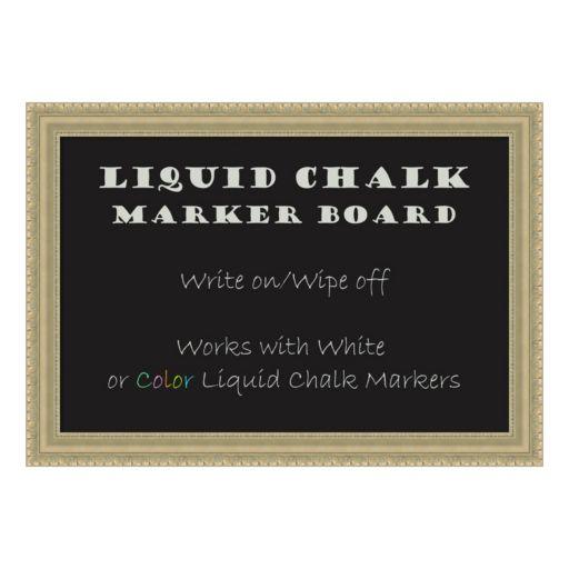 Amanti Art Embellished Liquid Chalkboard Wall Decor