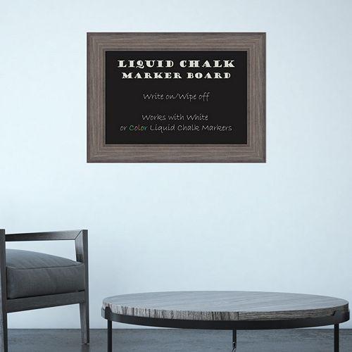 Amanti Art Framed Liquid Chalkboard Wall Decor