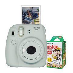 Fujifilm Instax Mini 9 Instant Camera Bundle with 20 Exposure Film
