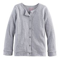 Baby Girl Jumping Beans® Button-Front Cardigan