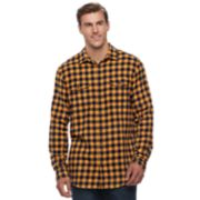 Big & Tall SONOMA Goods for Life? Supersoft Stretch Flannel Shirt