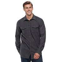 Big & Tall SONOMA Goods for Life™ Supersoft Stretch Flannel Shirt
