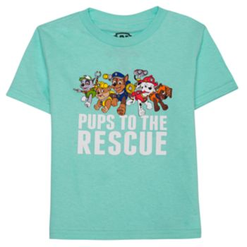 "Toddler Boy Paw Patrol ""Pups To The Rescue"" Graphic Tee"